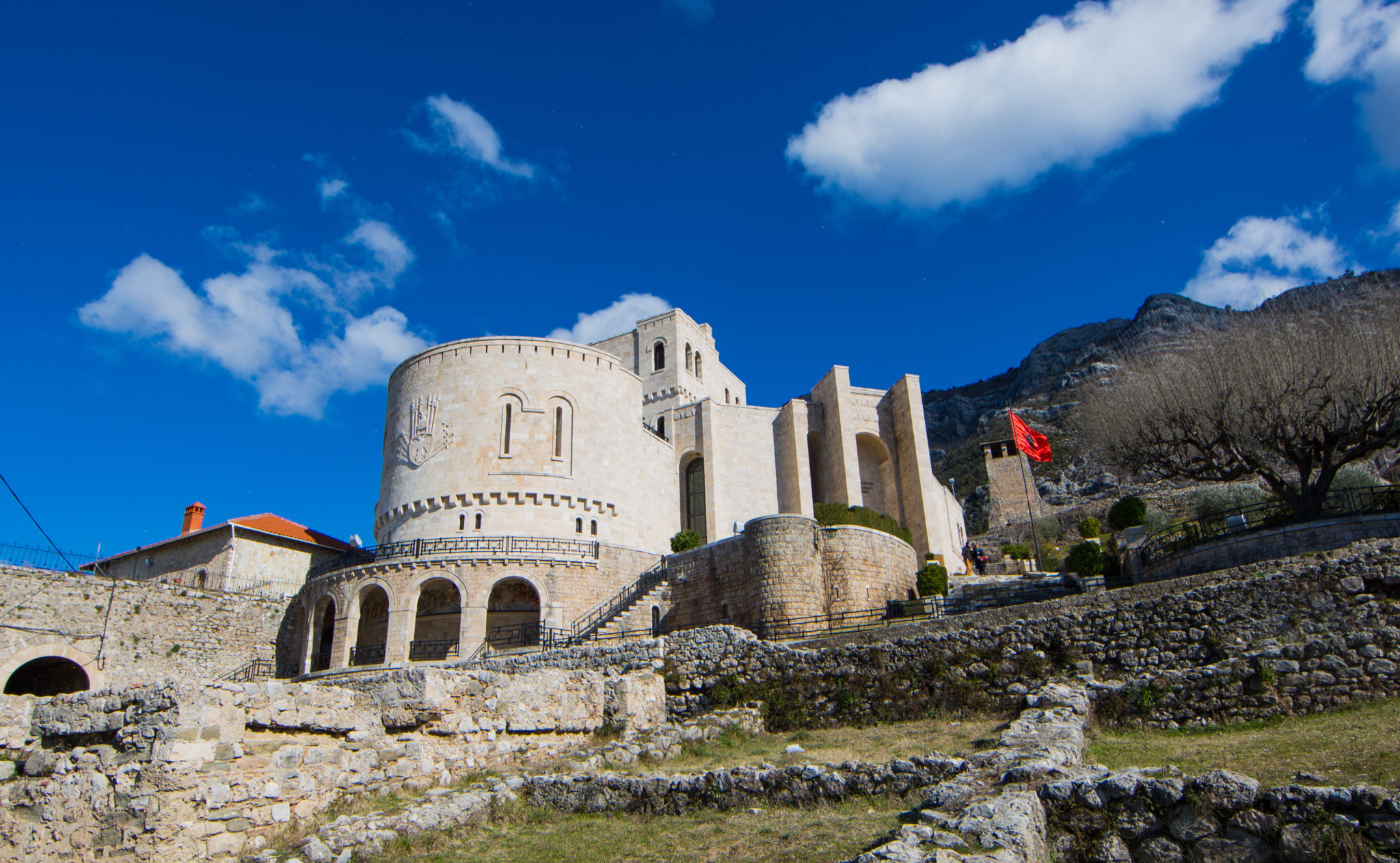 Kruja Castle and Skanderbeg museum